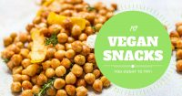 10 VEGAN SNACKS LIST