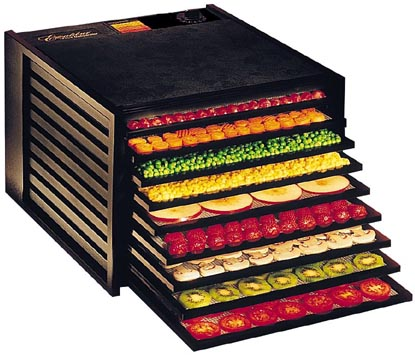 Food dehydrator for healthy raw cooking