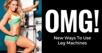 Leg machines exercises