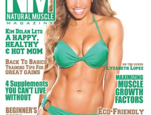 Lyzabeth Lopez on the Cover of Natural Muscle Magazine