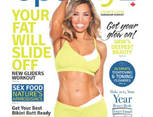 Lyzabeth Lopez on the Cover of Optimyz Magazine