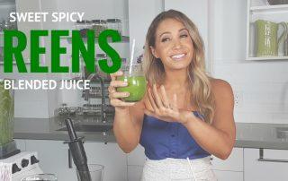 Sweet Spicy Greens Juice