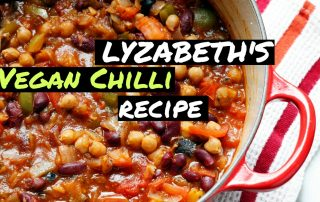 Lyzabeth's vegan chili recipe