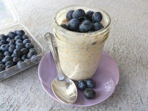 Blueberry Vegan Overnight Oat Recipes