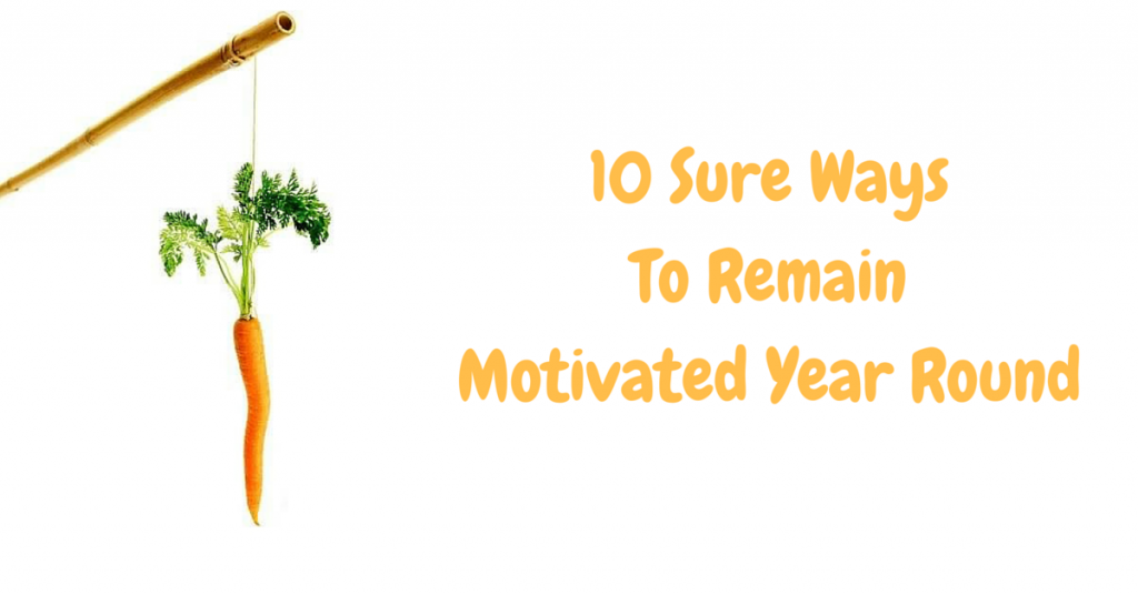 remain motivated year round