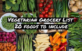 Vegetarian Diet Grocery List