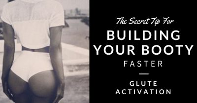 glute not activating
