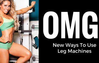 Leg machines exercises